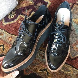 Steve Madden woman's platform work shoe